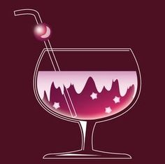 Create a Colorful Cocktail Icon