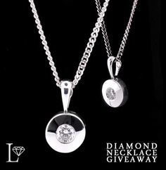 Win a free Diamond Necklace! Head over to our facebook page: http://www.facebook.com/Lloyds.Jewellery. Just Like & Comment on this post to enter!