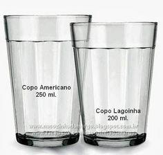 Resultado de imagem para medida.de.um.copo grande