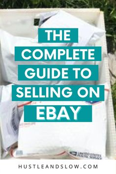 Want to learn the basics of selling on ebay? A free training for selling on ebay from a full time reseller. Selling on ebay to make money, selling on ebay side income, ebay side hustle. Free ebay course. Free ebay training. Making Money On Ebay, Make Money From Home, How To Make Money, Selling Online, Selling On Ebay, How To Sell Clothes, What To Sell, Free Training, Selling On Poshmark