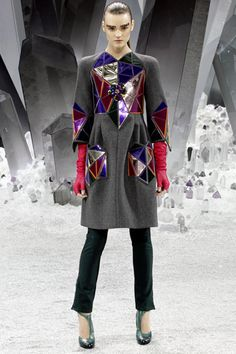 Paris Fashion Week: Chanel Fall 2012.