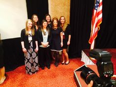 Tennessee Teen Eagle delegation met with @MicheleBachmann at Eagle Council 2014