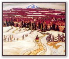 A.Y. Jackson  Road To Chicoutimi