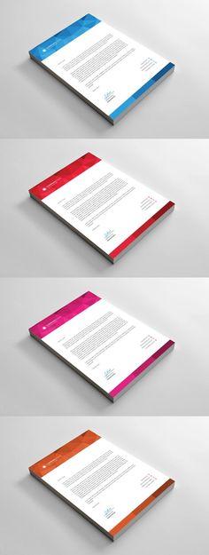 Web Design Proposal Template Pinterest Proposals, Photoshop - letterhead example