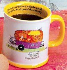 Off Your Path Mug - Curly Girl Design
