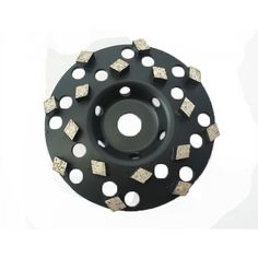 """5in /& 7in Diamond Ceramic Transitional Cup Wheel    5//8/""""-11Thread"""