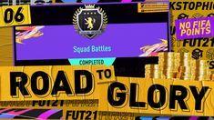 Fifa 21 Road To Glory 6 Elite 1 Squad Battles Rewards Extinct Cards Fifa Squad Glory