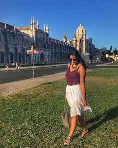"""☀️💙 . . . #monday #mosteirodosjeronimos #lookdaluli #lookdodia #look #lotd #fashion #fblogger #moda #lisbon #coach #portugal #visitportugal #fastfashion #summer #travel #wanderlust #travelblogger #travelsolo #travellingsolo #lisboa #bluesky #stellamccartney"" by @trendtips. #europe #roadtrip #여행 #outdoors #ocean #world #hiking #lonelyplanet #instalive #ilove #instalife #sightseeing #unlimitedparadise #tour #instamoment #instacool #instagramers #instapicture #travelingram #instatraveling…"