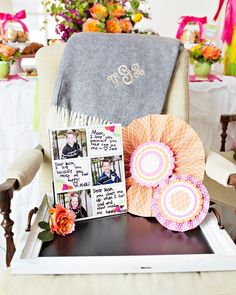 """Shower mom with dozens of gifts this Mother's Day. We love this bright and happy """"Coffee with Mom"""" brunch featuring Tiny Prints gifts and more. Best Mothers Day Gifts, Mothers Day Brunch, Flower Sugar Cookies, Cute Banners, Happy Coffee, Dear Mom, Tiny Prints, Love Mom, Beautiful Gifts"""