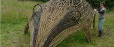 Nature Sculpture Course: Willow Badger Build at Feed Bristol ...
