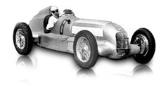 1934: Mercedes-Benz 750-kg formula racing car W 25:   The W 25 with supercharged engine was built for the 750-kg formula racing class. During the time it was used, from 1934 to 1936, the car was repeatedly modified and equipped with increasingly more powerful engines. Mercedes-Benz managed eleven Grand Prix victories with the W 25. Rudolf Caracciola was European champion in 1935.    Displacement: 8  Maximum Output: 3364 cc (205 cu in)  Top speed: 280 km/h (175 mph)