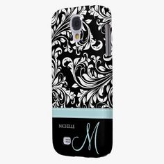 It's cool! This Elegant Black and White Damask Pattern with Monogram Samsung Galaxy S4 Case is completely customizable and ready to be personalized or purchased as is. Click and check it out!