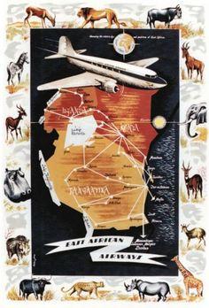 East African Airways ~ Jay Peter