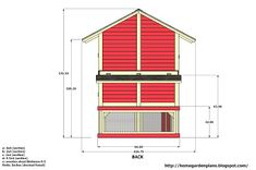 home garden plans: L102 - Chicken Coop Plans Construction - Chicken Coop Design - How To Build A Chicken Coop Building A Chicken Run, Walk In Chicken Coop, Chicken Coop Kit, Diy Chicken Coop Plans, Portable Chicken Coop, Chicken Coop Designs, Chicken Runs, Tropical House Design, Construction