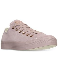 3cbe3a5b91f8bf Converse Women s Chuck Taylor Pastel Leather Ox Casual Sneakers from Finish  Line Shoes - Finish Line Athletic Sneakers - Macy s