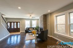 Great natural light in this iCandy Homes renovated living space!