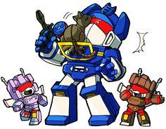 SW:Ravage, ejeeeee…!!???? SD transformers!