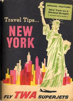 Miroslav Sasek Travel Tips or New York.
