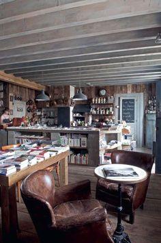 Une librairie-cuisine