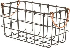 Homebase small metal wire basket. £3.37