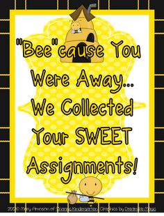 Bee themed ideas and freebie!