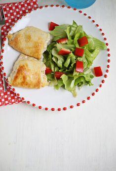 Spicy Tuna Melts: pepperjack cheese, tuna, crescent rolls