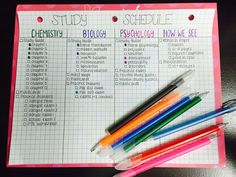 success-without-a-mess: Official study schedule for finals, bring it on Hopefully this will keep me on track!
