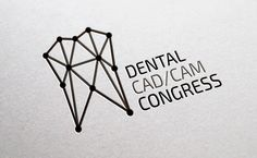 Dental CAD/CAM Congress logo by Vladislav Mikhailov #logo #brand #identity…