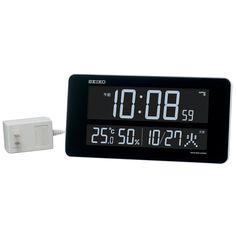 Amazon.co.jp: SEIKO CLOCK(セイコークロック) 交流式カラー液晶デジタル 掛時計 置時計 電波掛置兼用時計(白塗装) DL208W: ホーム&キッチン