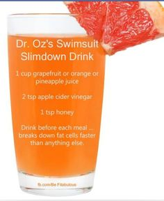 by popular demand another fat burning juice make sure the dr ozs swimsuit slimdown drink malvernweather Image collections