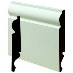 Wickes Dual Purpose Primed MDF Torus/Ogee Skirting 18x169x2400mm Pack 2  6 inch £22.89