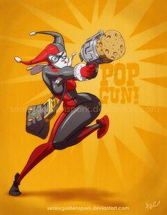 Pop Gun! by *ArtistAbe on deviantART