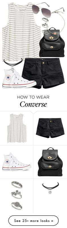 personal by littlemixmakeup on Polyvore featuring Coach, HM, Topshop, Miss Selfridge and Converse