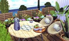 Twitter Animal Crossing 3ds, Cool Furniture, Outdoor Furniture Sets, Outdoor Decor, Stories For Kids, New Leaf, Make It Yourself, Twitter, Sims 4