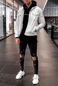Cool outfits for men casual – Fashion Cool Outfits For Men, Stylish Mens Outfits, Sporty Outfits, Mode Outfits, Urban Outfits, Grunge Outfits, Girl Outfits, Casual Guy Outfits, Outfit Ideas For Guys