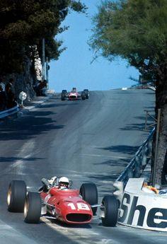 Lorenzo Bandini (ITA) (Scuderia Ferrari), Ferrari 312/67 - Ferrari 242/218 3.0 V12 (RET),  Monaco Grand Prix, 1967.   © Scuderia Ferrari