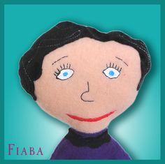 """""""Oma Reni"""" – Draw Your Cuddle   Fiaba Puppe nach einer Kinderzeichnung"""