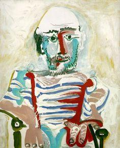 AUTORITRATTO A 84 ANNI Picasso