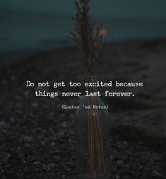 Do not get too excited because things never last forever. Photo… – Power Of Quotes Truth Quotes, Sad Quotes, Quotes To Live By, Motivational Quotes, Life Quotes, Inspirational Quotes, Qoutes, Funny Relationship Memes, Truth Of Life