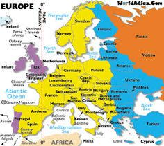 europe and italy time zones map