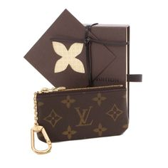 Louis Vuitton Pochette Cles Monogram Wallets Brown Canvas M62650