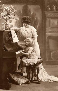 • The piano lesson                                                       …