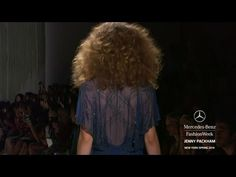 Yesss Big Curly Frizzy Hair!!! JENNY PACKHAM: MERCEDES-BENZ FASHION WEEK SPRING 2014 COLLECTIONS