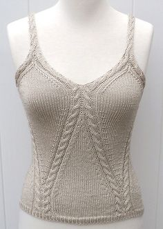 Ravelry: Top Adonis pattern by Carole Francone