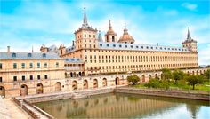 San Lorenzo de El Escorial, also known as El Escorial de Arriba is a town and municipality in the Community of Madrid, Spain, located to the. Bilbao, Iberian Peninsula, New Adventures, Spain Travel, World Heritage Sites, The Good Place, Taj Mahal, Places To Visit, Tours