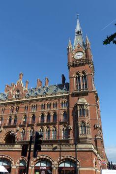 St. Pancras Station in London (May 2014) - Photo taken by BradJill