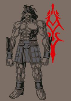Fate Stay Night Berserker  by TyVansant