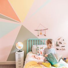 MAKE THIS: Spring Kid's Mural by Colorhouse paint . . #ecobynaty #naty #baby #babycare #organic #eco #green #natural #mother #mom #father #dad #environment #child #care #ecofriendly #style #home #sweden #swedish #nordic #interior #design #scandinavian #love #family