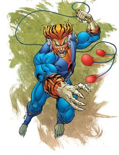 Thundercats Tygra, Line art by Robert Atkins, Color by Mark Roberts