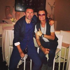 Yours truly and my friend Robbie Keane ~ Captain of Ireland ~ Captain of LA Galaxy and former player of my beloved football club, Wolverhampton Wanderers... we dance ~ we sing ~ we laugh